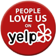 See our amazing reviews on Yelp