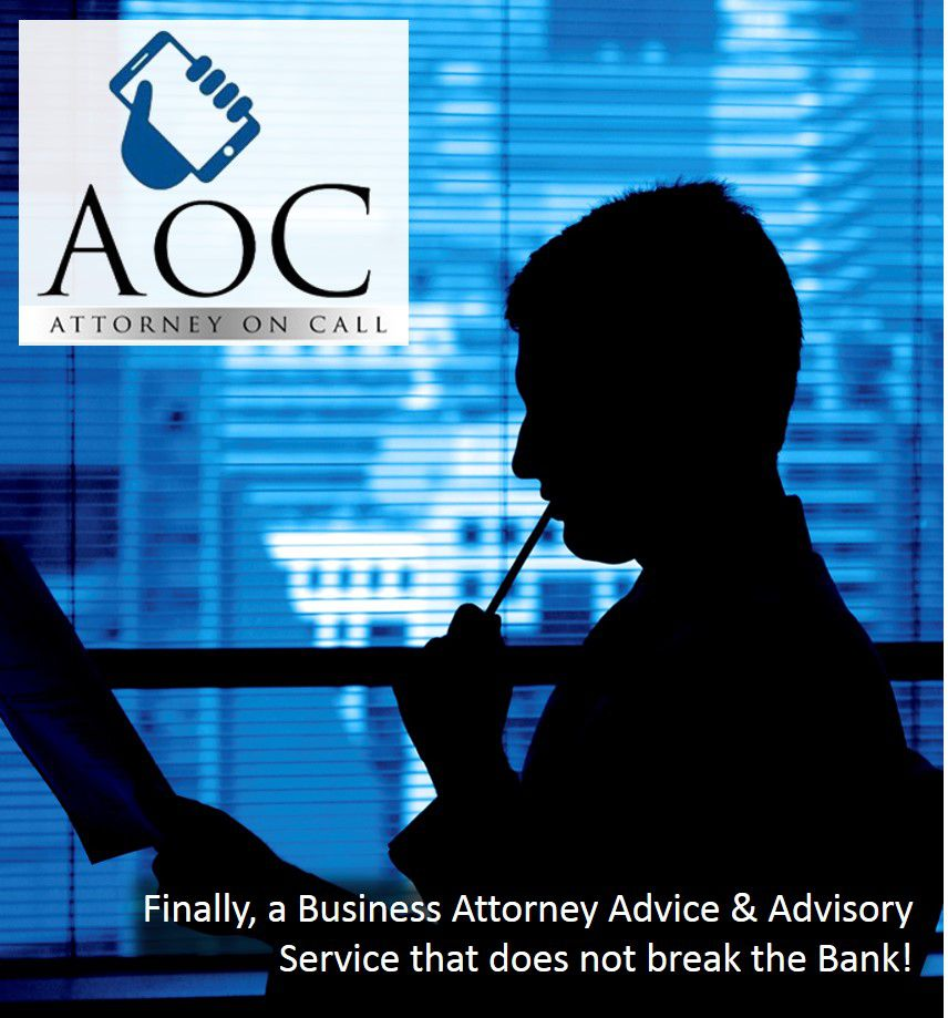 The AoC Program - Attorney on Call Advisory Service Logo