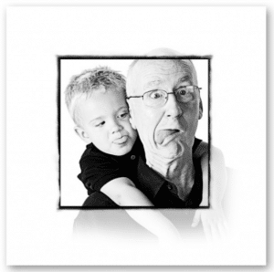 Small Business Attorney Orange County Client eMotion Portrate Studios - Grandpa