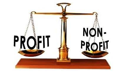 non profit vs for profit organizations