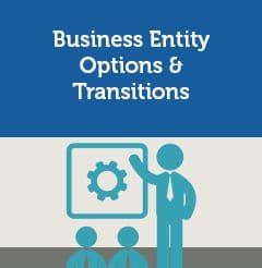 Business Entity Options & Transitions