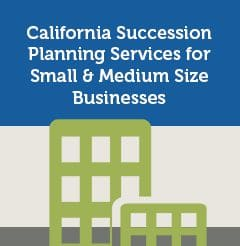 California Succession Planning Services for Small & Medium Size Businesses